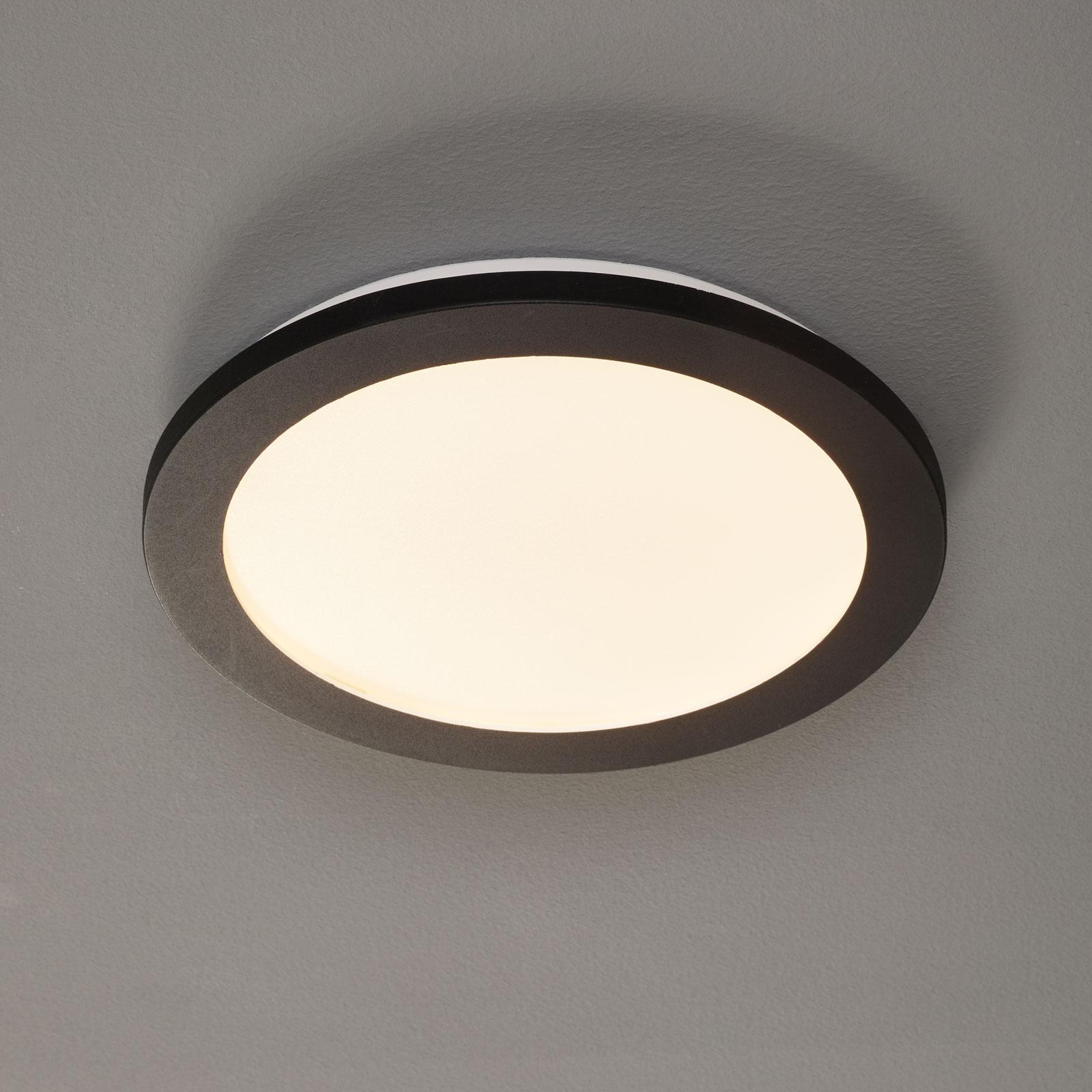 LED-kattolamppu Camillus, pyöreä, Ø 26 cm