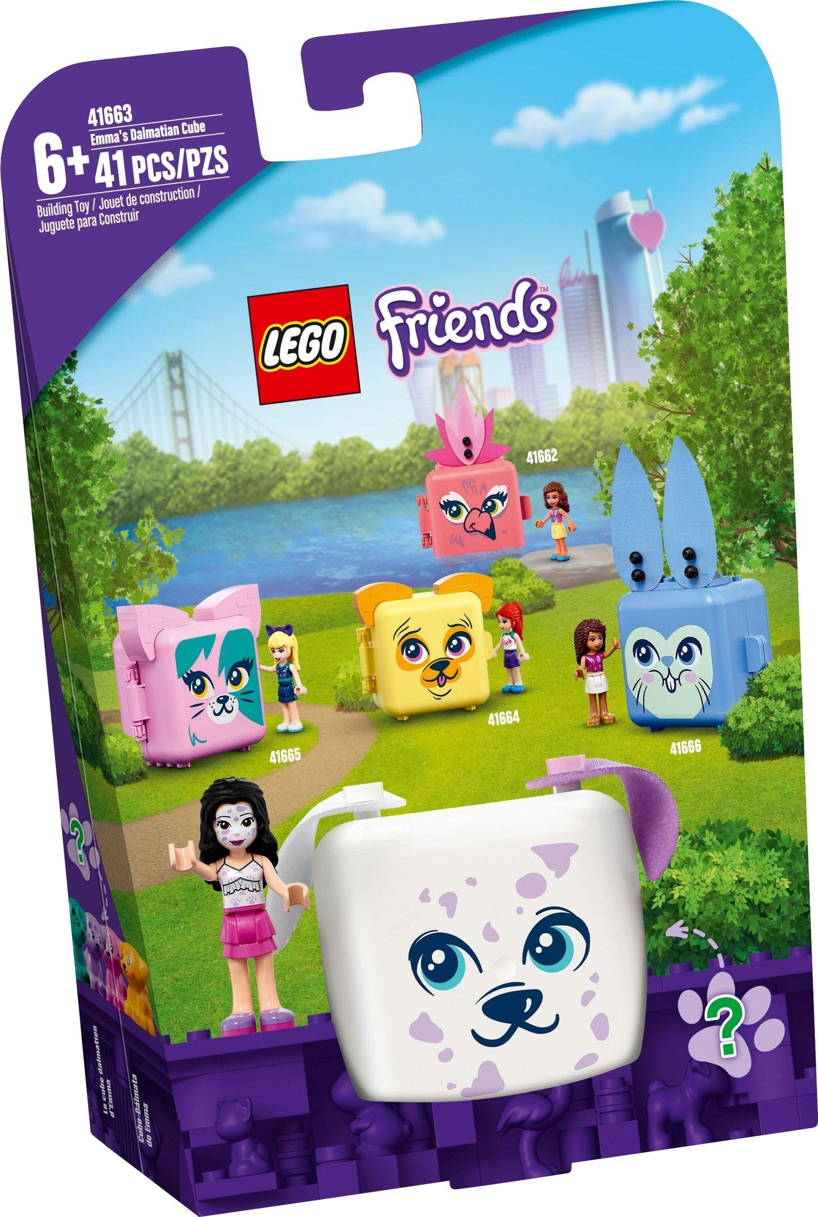 LEGO Friends - Emma's Dalmatian Cube (41663)