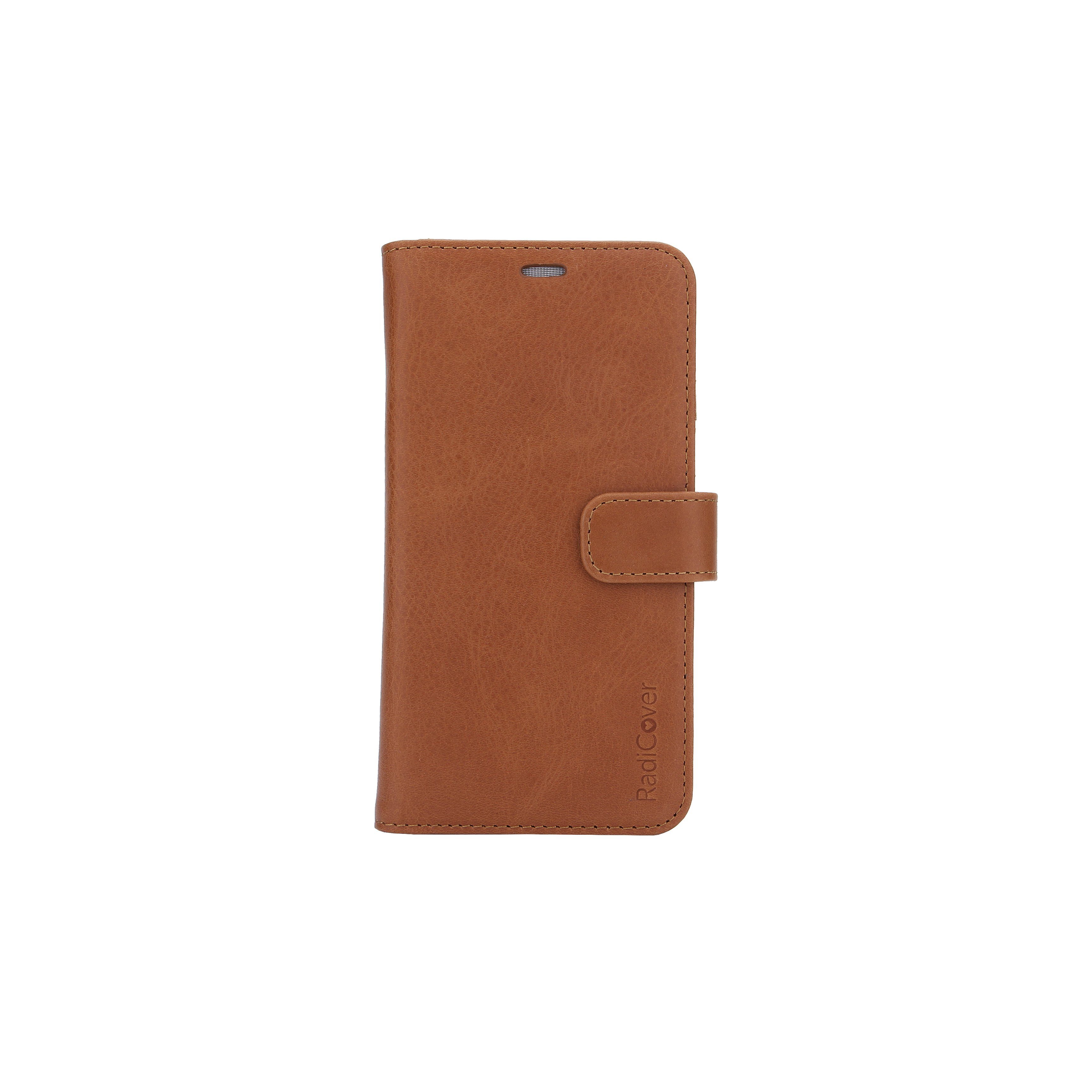 Radicover - Radiationprotected Mobilewallet Leather iPhone XR 2in1 Magnetskal ( 3-led RIFD )