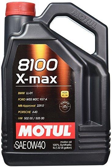 Moottoriöljy MOTUL 8100 X-MAX 0W40 4L