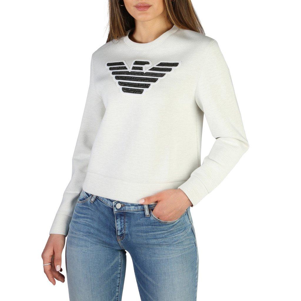 Emporio Armani Women's Sweatshirt Various Colours 3Z2M752JPUZ0 - white 40