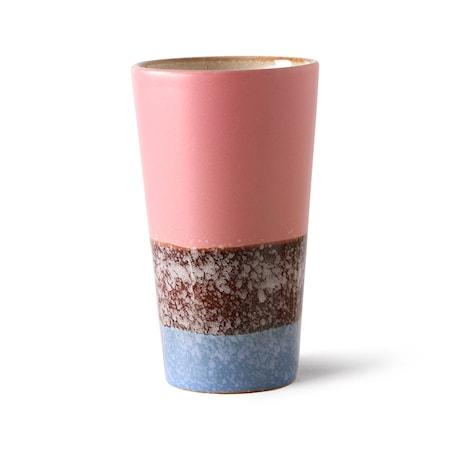 70s ceramics Latte Mugg Reef
