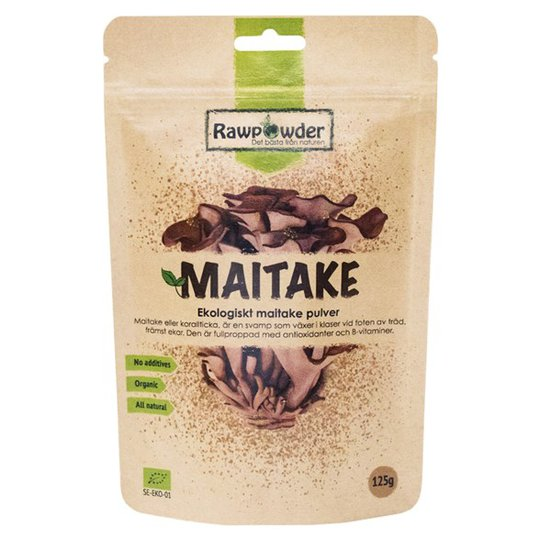 Rawpowder Ekologiskt Maitakepulver, 125 g