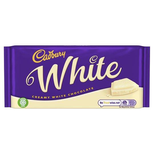 Cadbury White Chocolate 90g