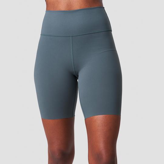 Nimble Biker Shorts, Elm Green