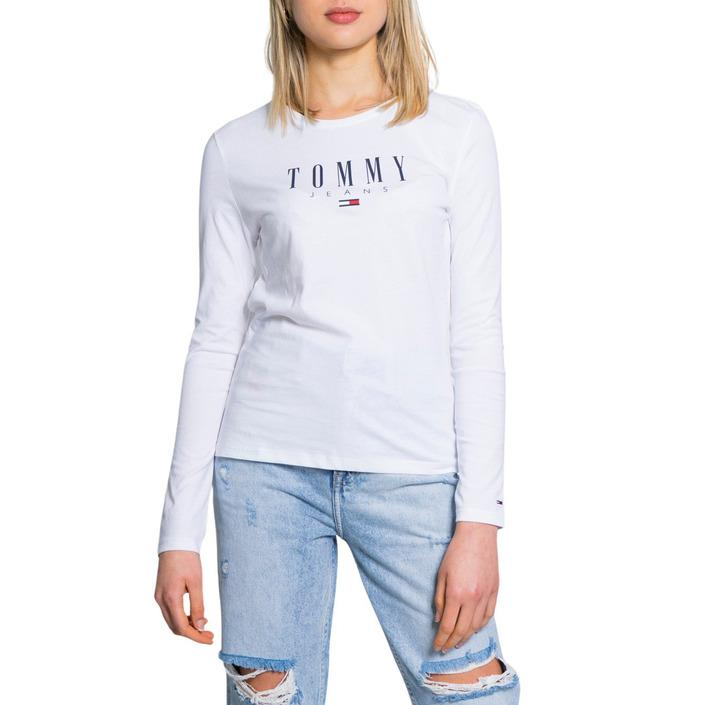 Tommy Hilfiger Jeans Women's Sweater White 190126 - white S