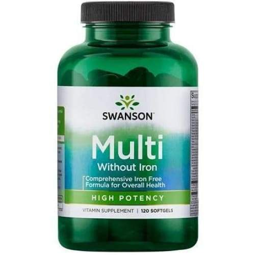 Multi Without Iron - 120 softgels