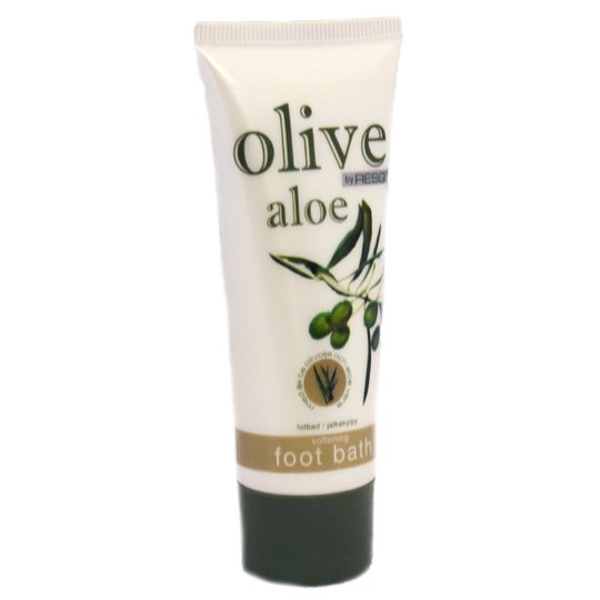 Fotbad Olivolja Aloe - 21% rabatt