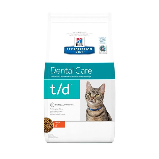Hill's Prescription Diet Feline t/d Dental Care Chicken (1,5 kg)