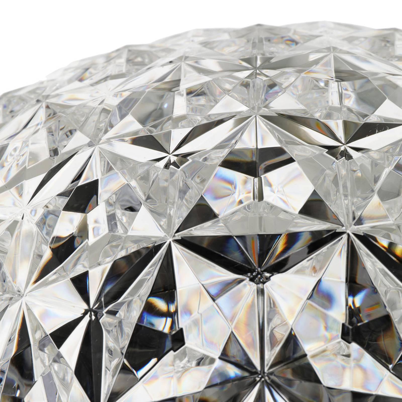 Kartell Planet -LED-lattiavalo 130 cm, kirkas