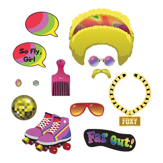 Fotoprops Groovy 70's - 13-pack
