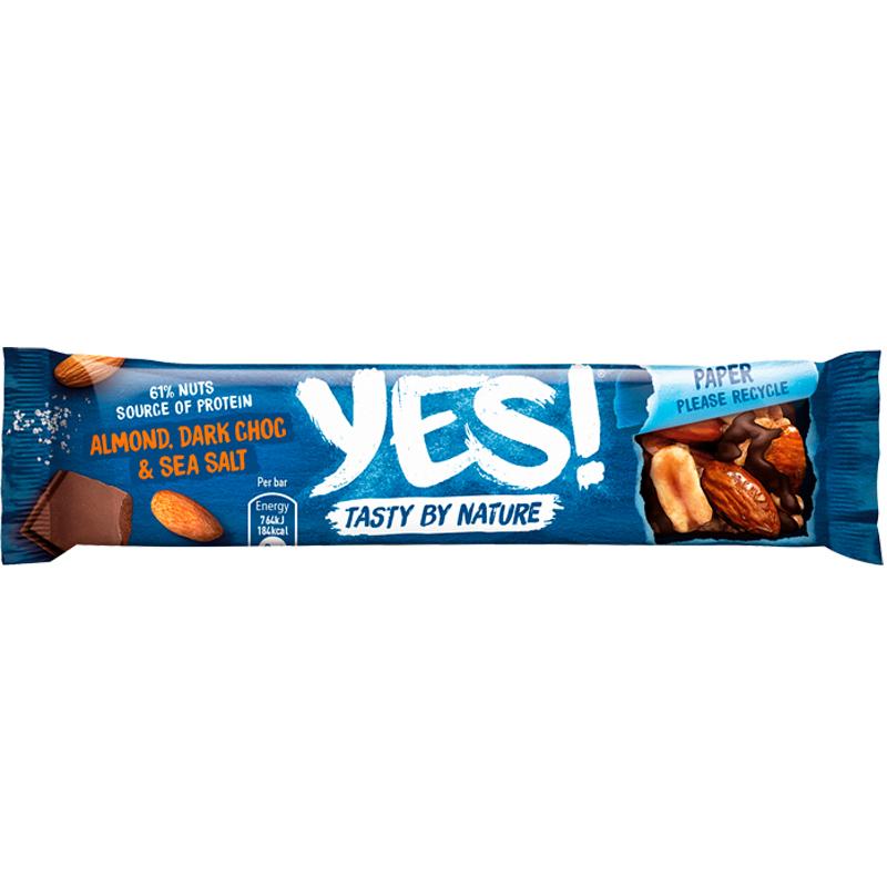 Pähkinäpatukka Sea Salt & Dark Chocolate - 13% alennus