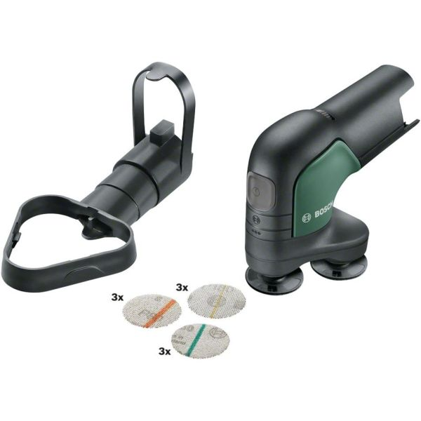 Bosch DIY Easy Curv Sander 12 Slipe- og polermaskin uten batteri og lader