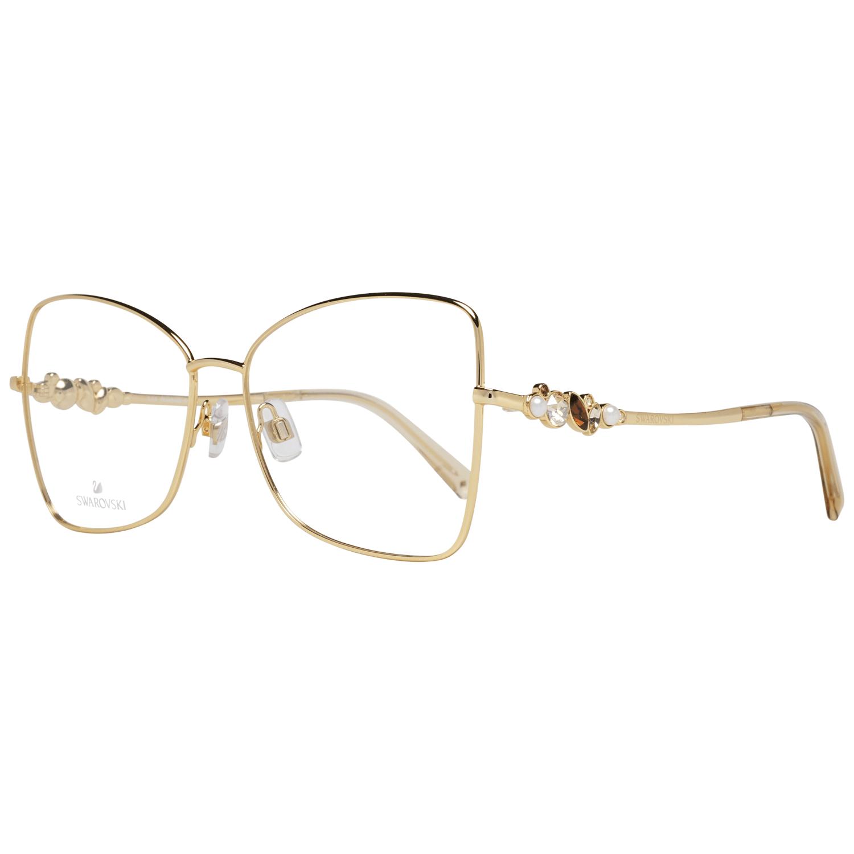 Swarovski Women's Optical Frames Eyewear Gold SK5369 56030