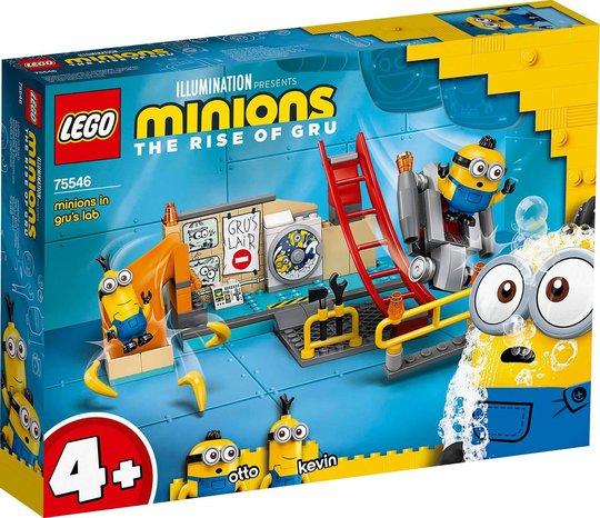 LEGO Minions 75546 Minions i Grus Laboratorium