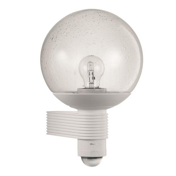 Steinel L400S Detektorlampe IP44, klasse II Hvit