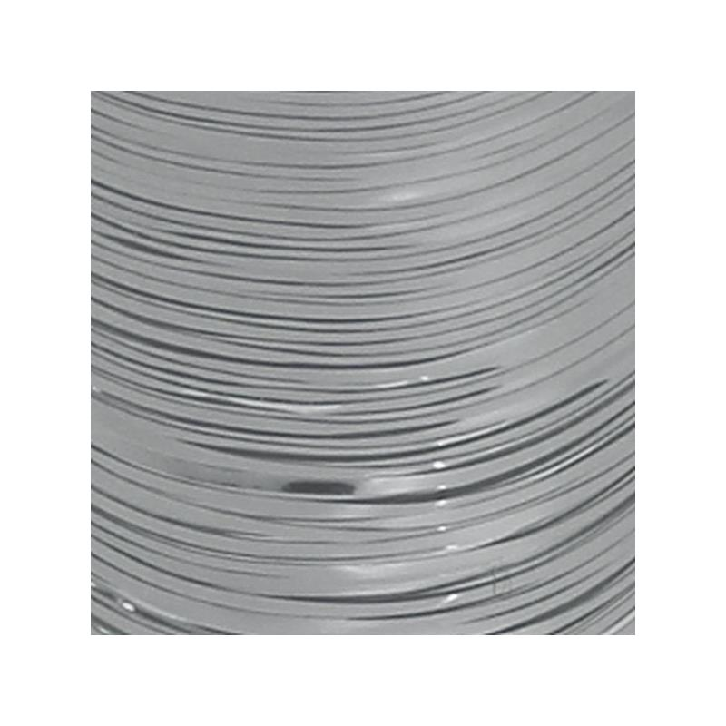 Flat Tinsel - Silver Textreme