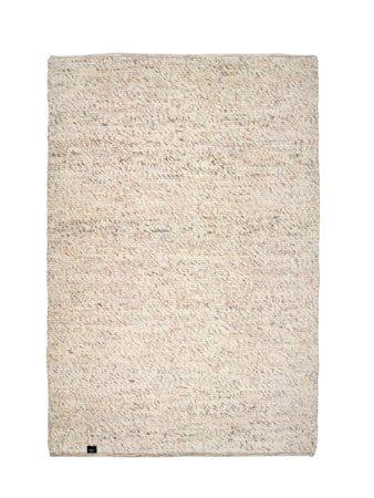 Merino teppe - Natural beige, 170x230