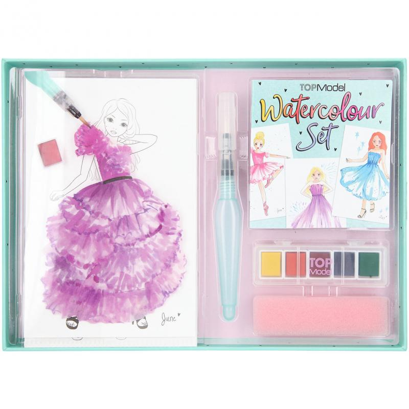 Top Model - Watercolour Set (048842)