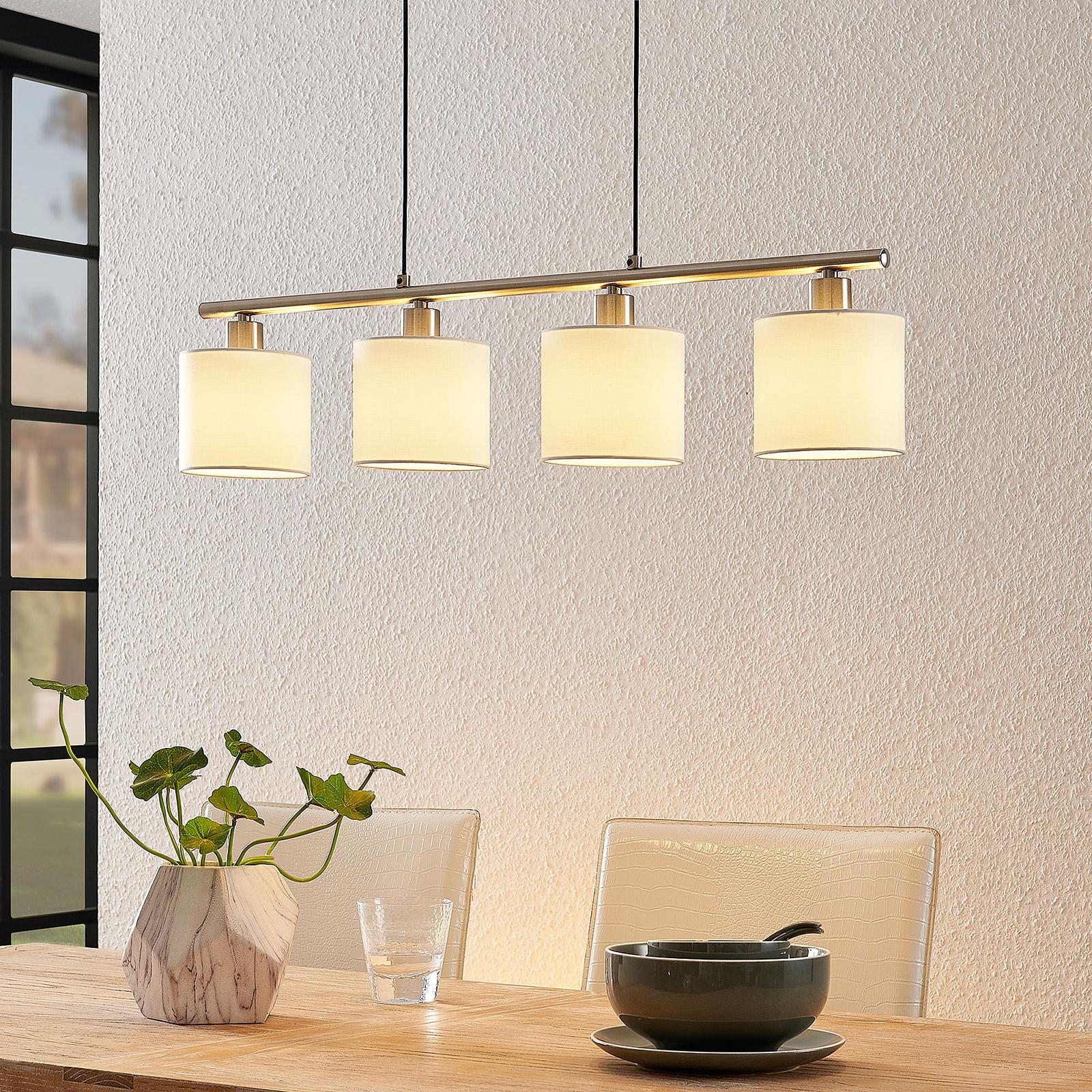 Lindby Stannis -riippuvalo, 4-lamppuinen