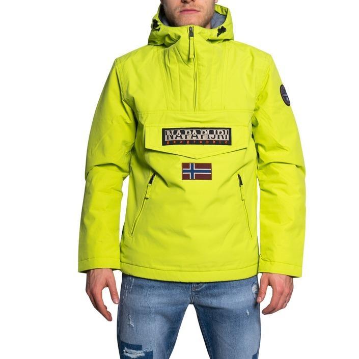 Napapijri - Napapijri Men Jacket - yellow S