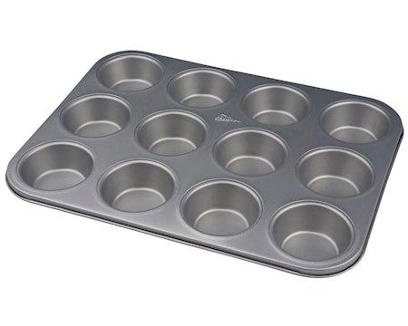 Silvertop Muffinsform 35cm Stål