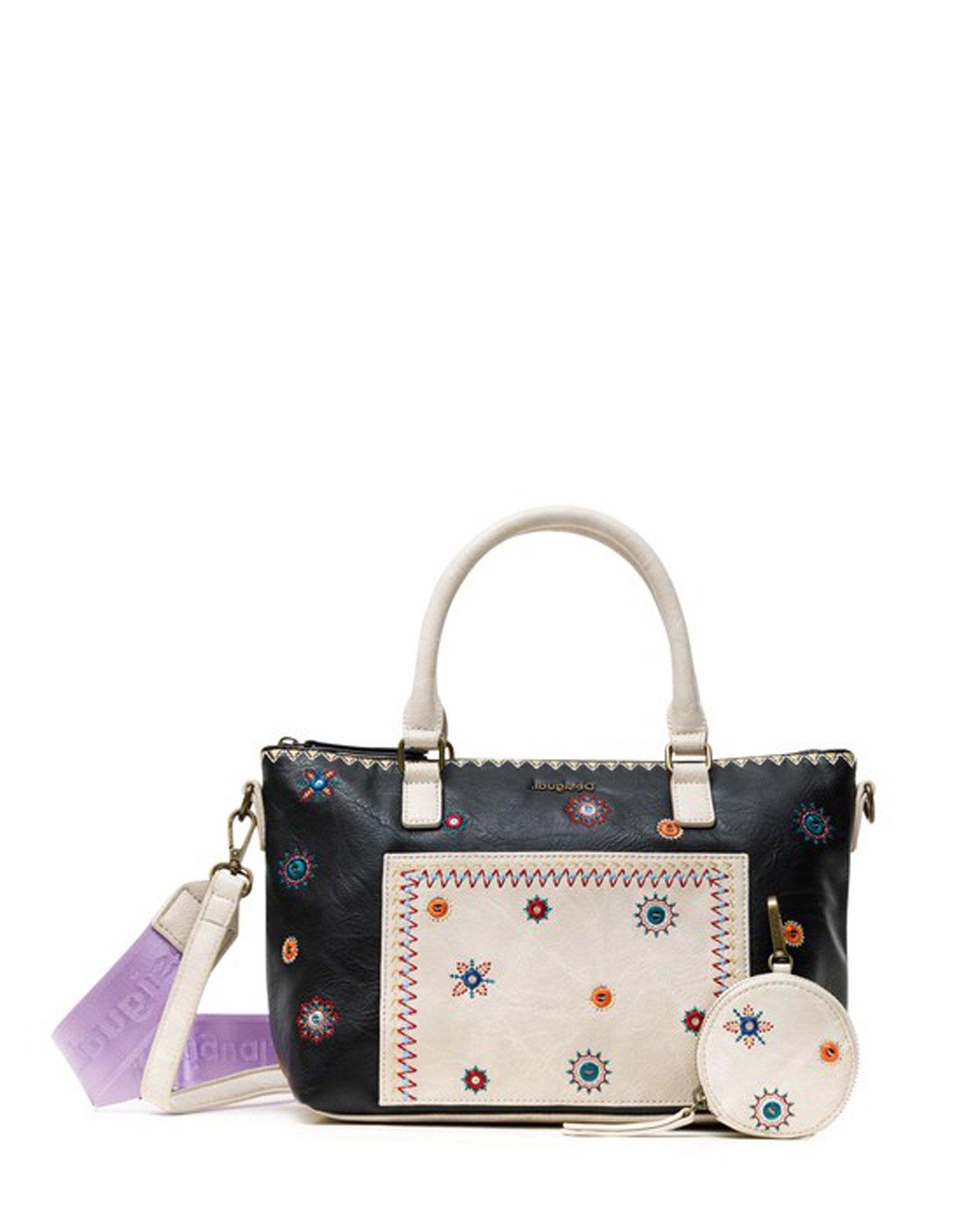 Desigual Women's Handbag Beige 240048 - beige-1 UNICA
