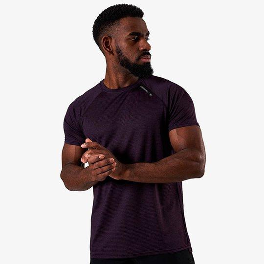 Training Mesh T-shirt v2, Purple Melange