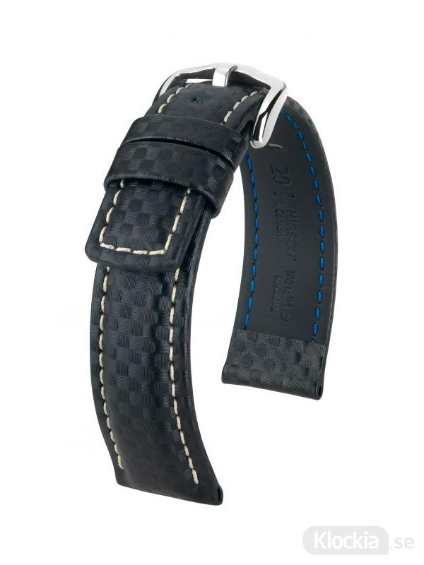 Hirsch Carbon 20mm XL Svart/Vit/Silver 02592250-2-20