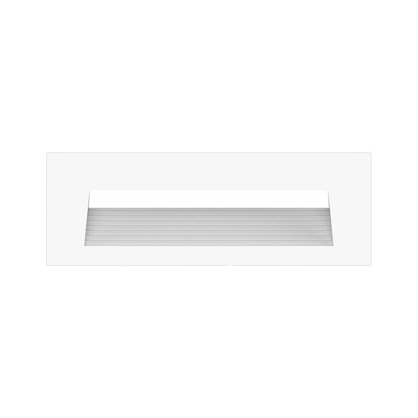 Arcchio Javis-LED-uppovalaisin, uurrettu valkoinen