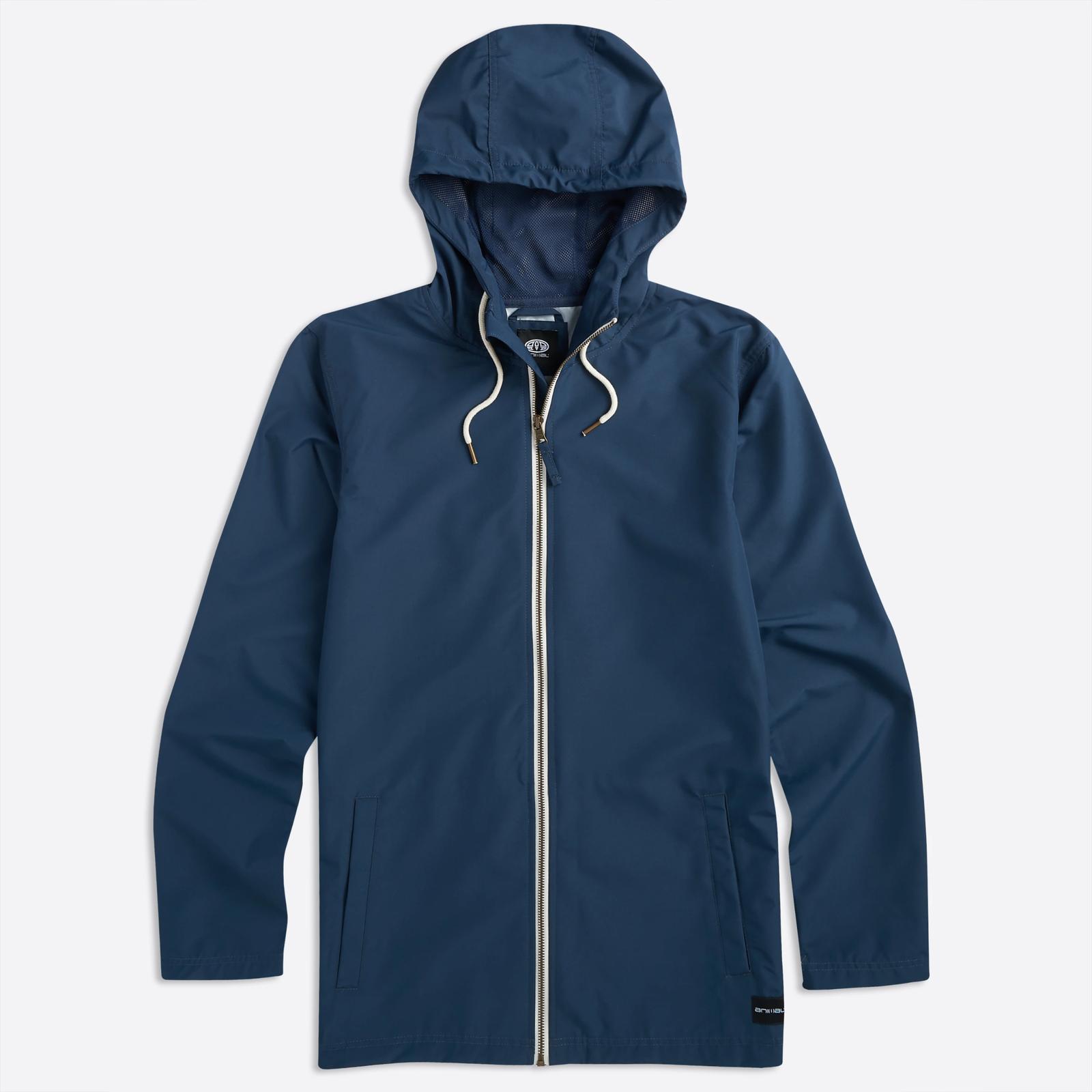 Animal Clothing Men's Byro Jacket Dark Navy 5057652287353 - S Blue