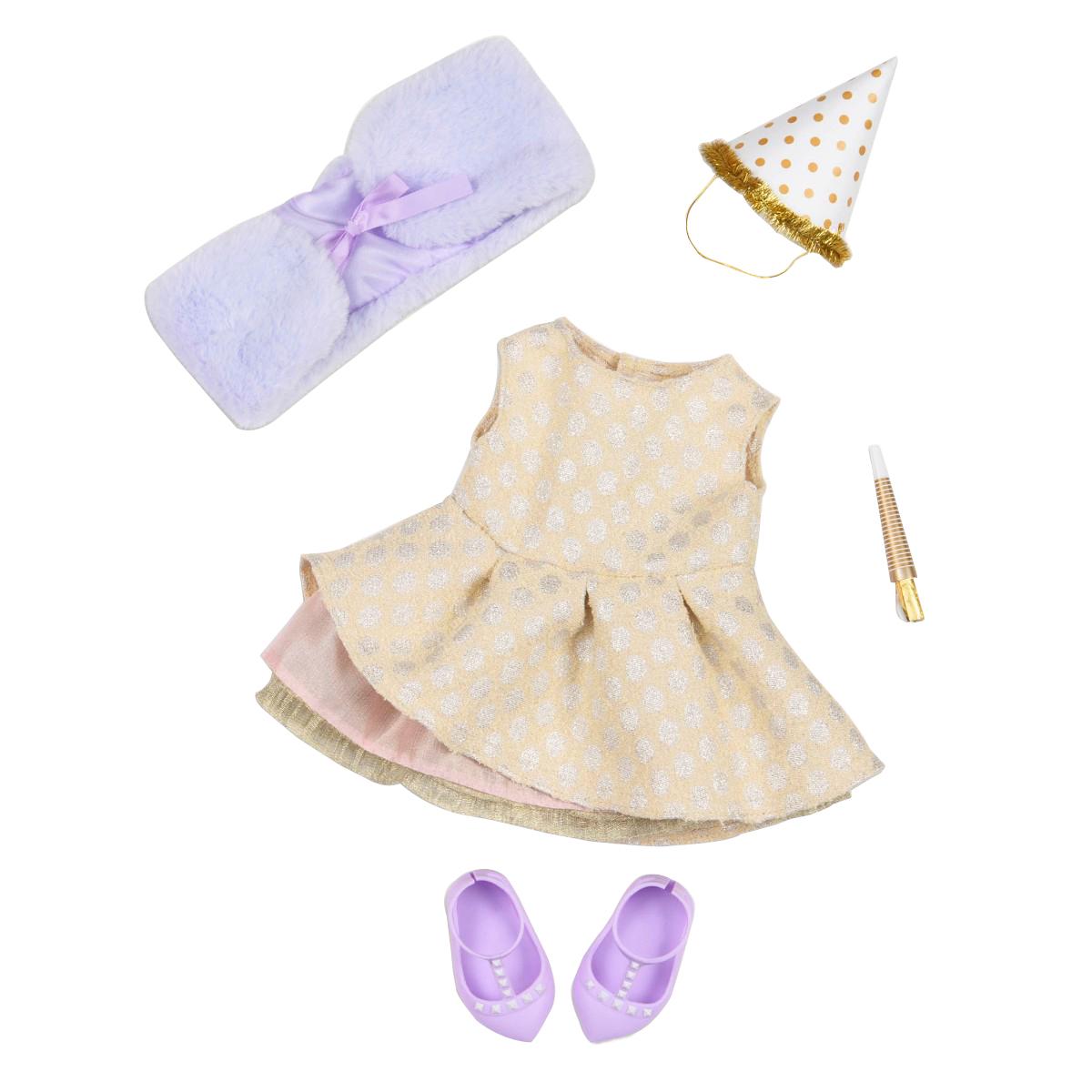 Our Generation - Deluxe dockkläder - Nyårs klänning (730270)