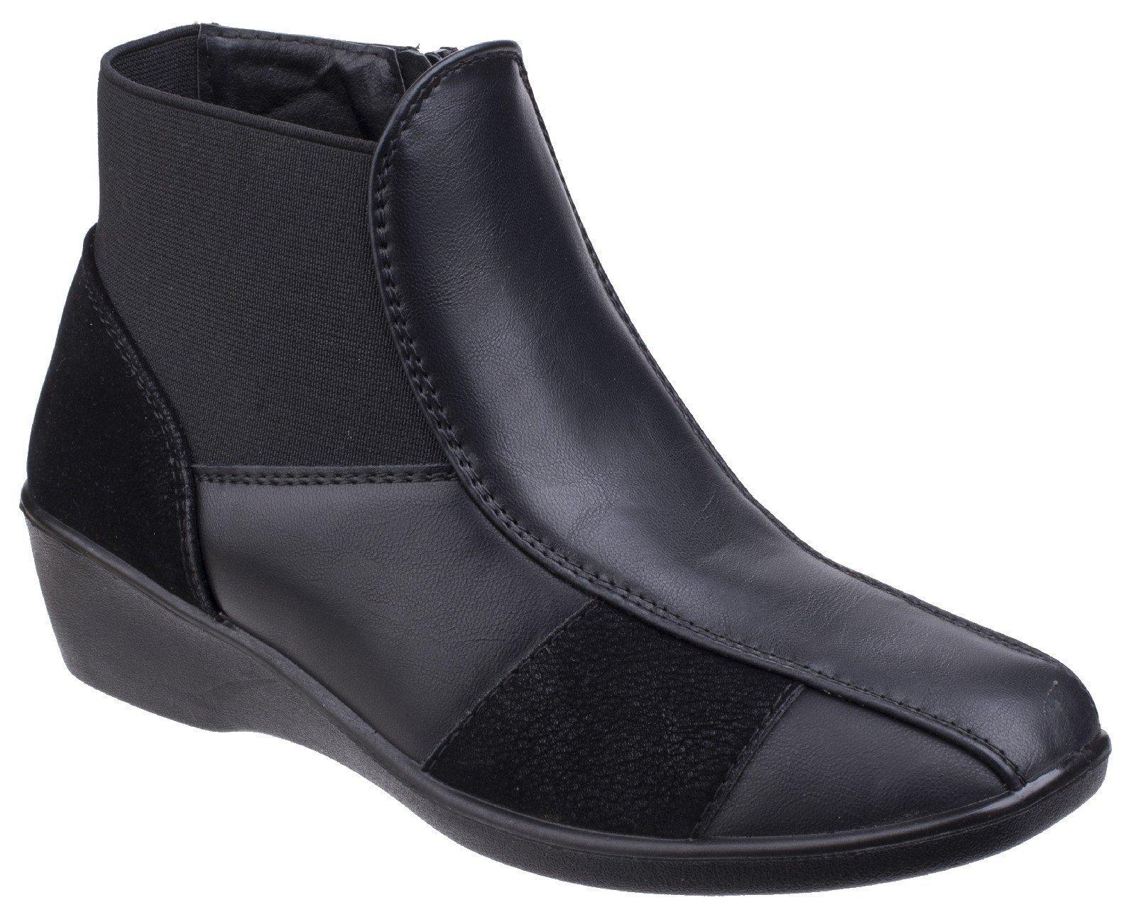 Fleet & Foster Women's Festa Ankle Boot Black 25560-42532 - Black 3