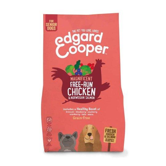 Edgard & Cooper Dog Senior Grain-Free Kyckling & Lax (2,5 kg)