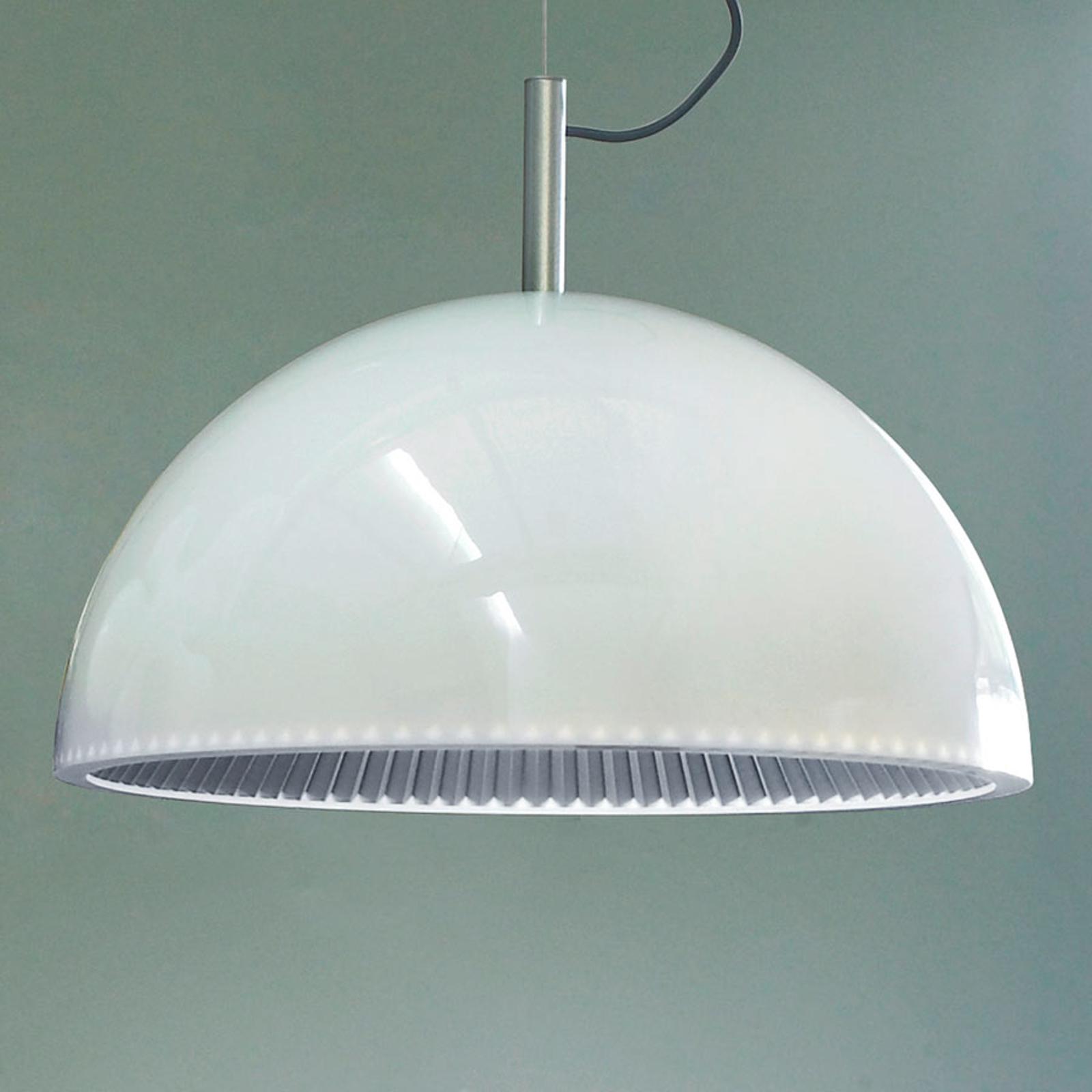Grok Umbrella -riippuvalaisin, valkoinen, Ø 60 cm
