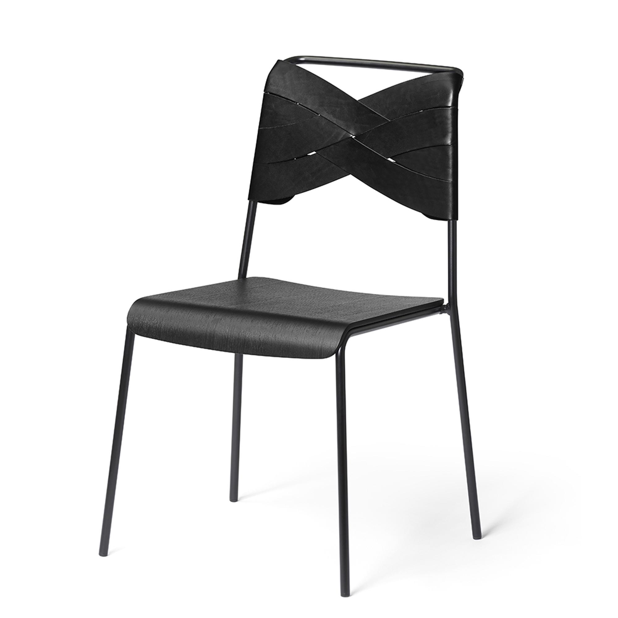 Design House Stockholm Stol Torso black/black