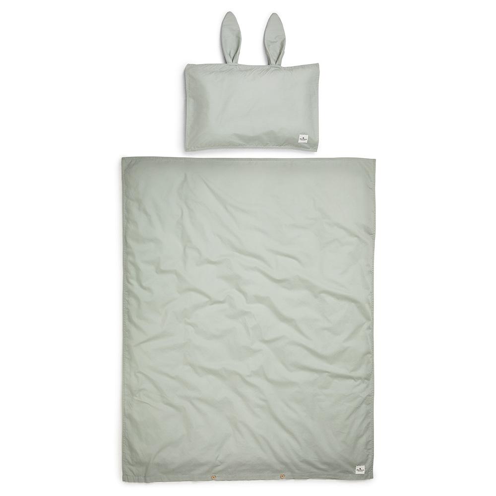 Cot Bedding Set - Mineral Green