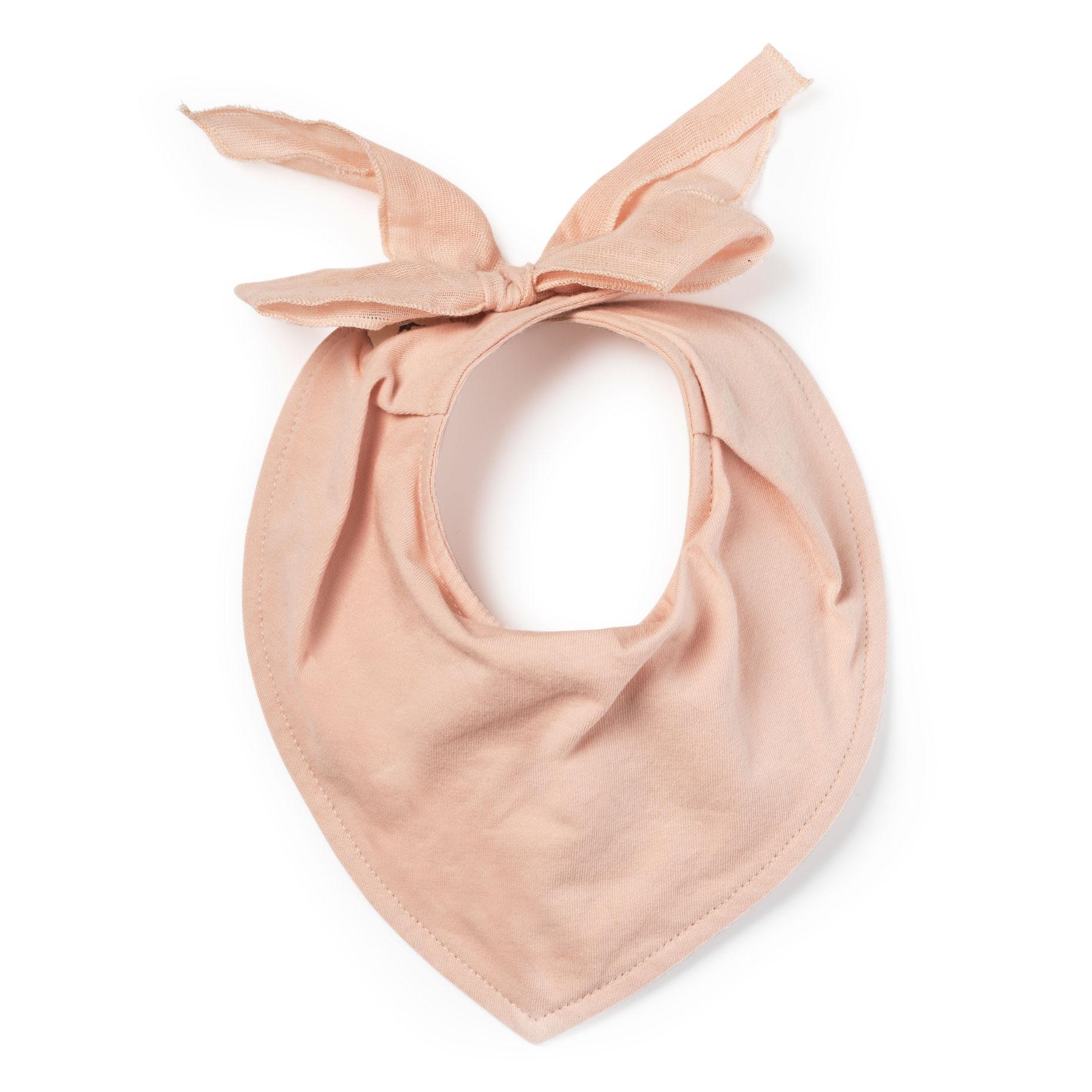 Dribble Bib - Powder Pink