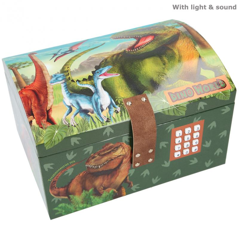 Dino World - Treasure Chest w/Code & Sound (0411461)