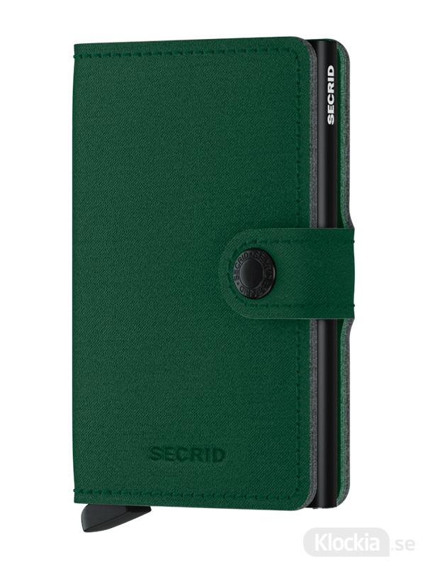 Plånbok SECRID Miniwallet Yard Green