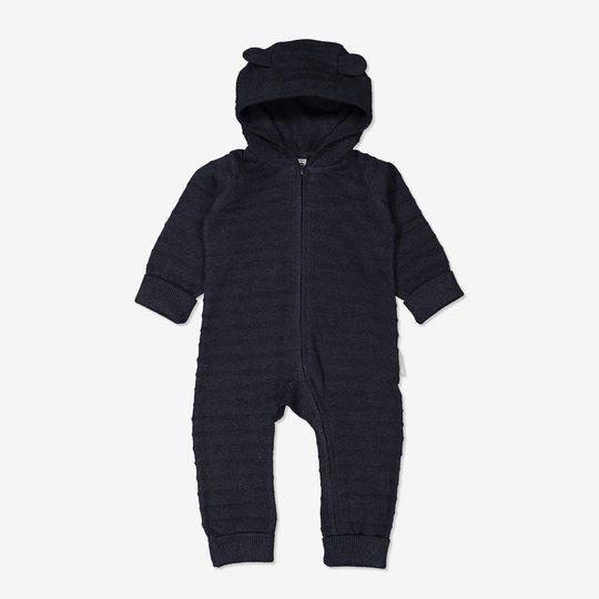Strikket dress baby mørkblå