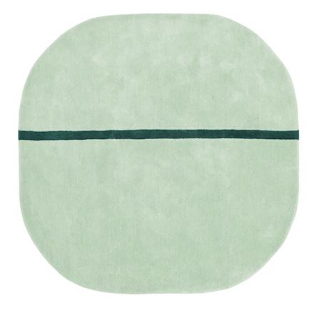 Oona Teppe Mint 140x140 cm