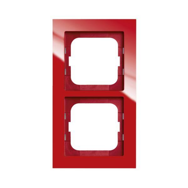 ABB Axcent Yhdistelmäkehys Punainen 2-paikkainen