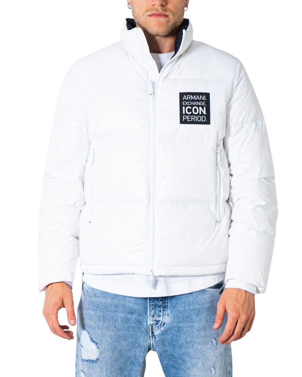 Armani Exchange Men's Jacket Various Colours 273168 - white XL