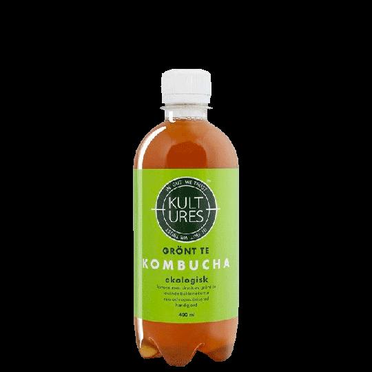 Kultures Kombucha Original Green Tea, 400 ml