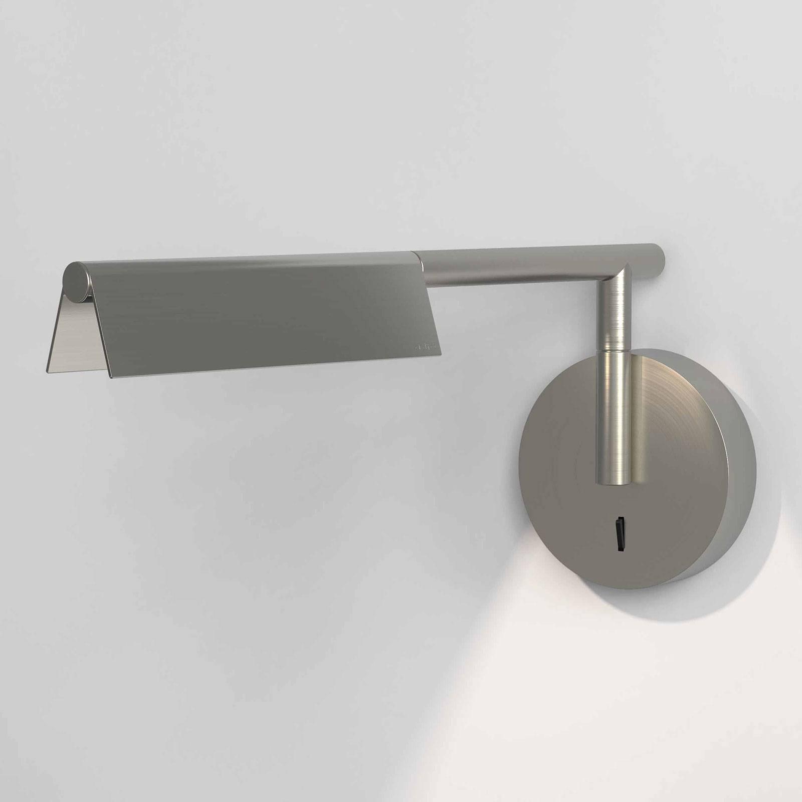 Astro Fold -LED-seinälamppu katkaisijalla, nikkeli