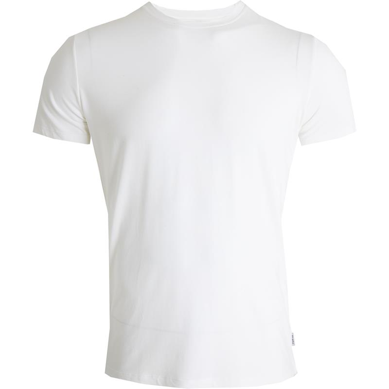 Tufte Crew Neck t-shirt M Bright White - Herre