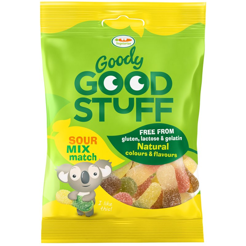 "Godis ""Sour Mix Match"" 100g - 63% rabatt"