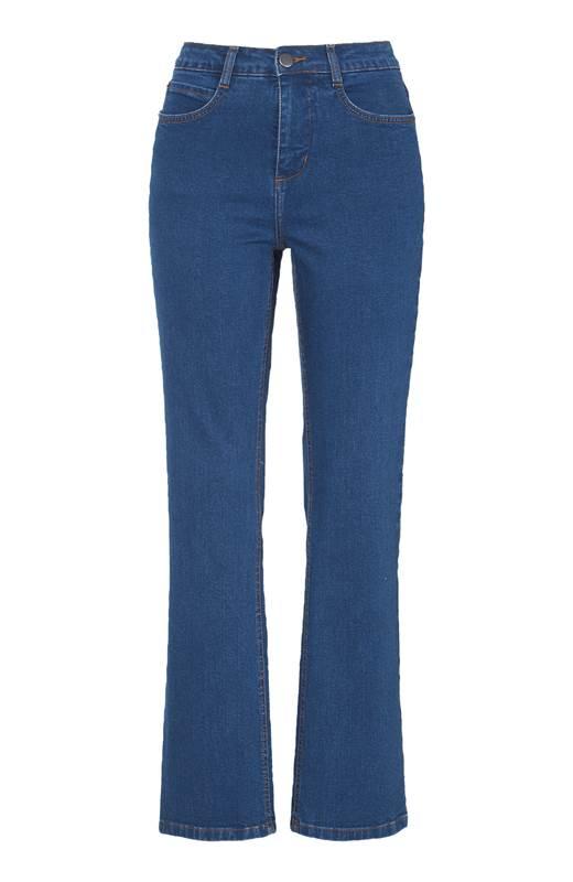 Cellbes Raka jeans i ekologisk bomull Blå Denim