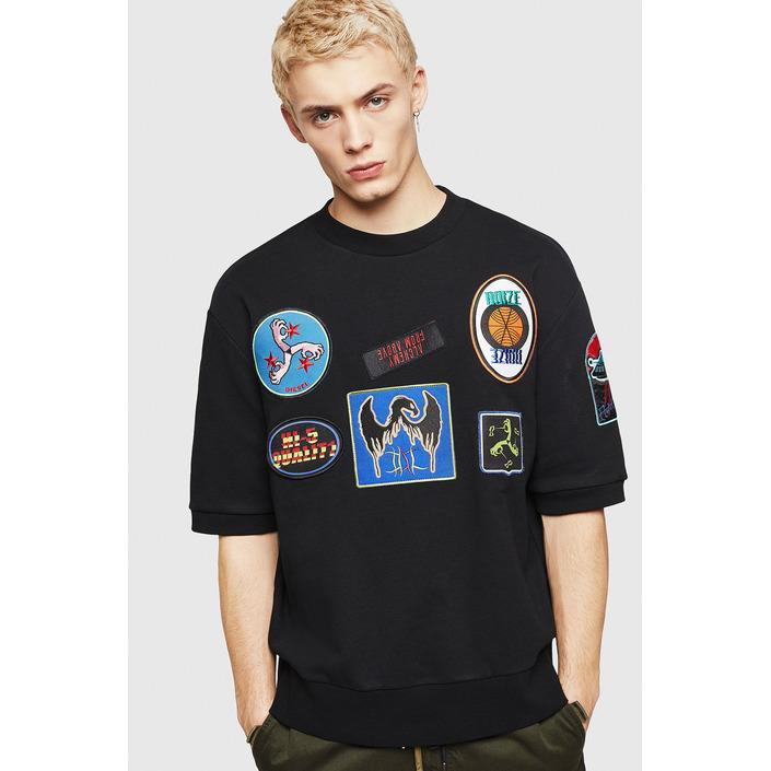 Diesel Men's Sweatshirt Black 294073 - black M